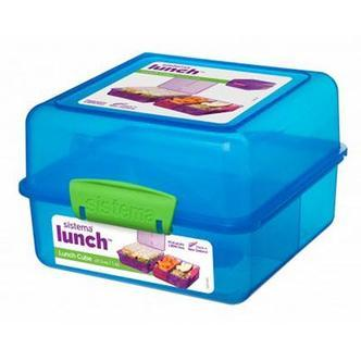 Sistema Lunch Cube To Go madkasse - 1,4 liter - Flere farver