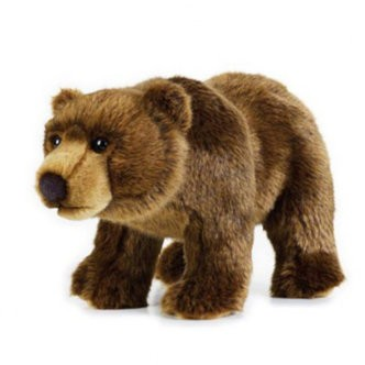 National Geographic bamse, Grizzly bjørn 30 cm