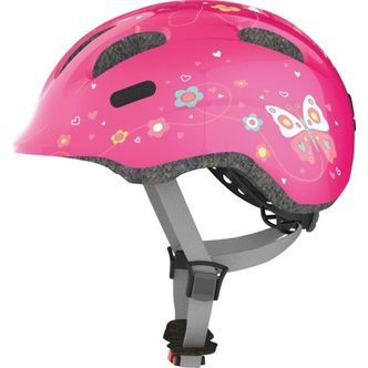 Abus Smiley Hjelm 2.0 S (45-50 cm) - Pink Butterfly