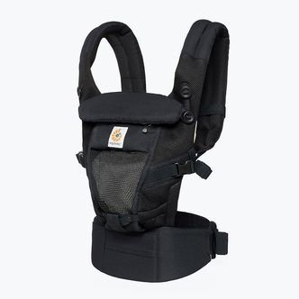 Ergobaby Adapt Cool Air Mesh Bæresele - Onyx Black