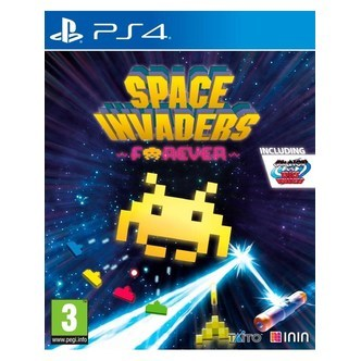 Space Invaders Forever - Sony PlayStation 4 - Action