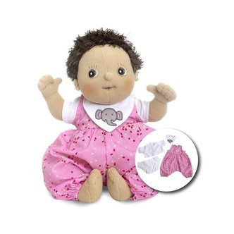 Rubens Barn - Rubens Baby Doll with diaper - Molly
