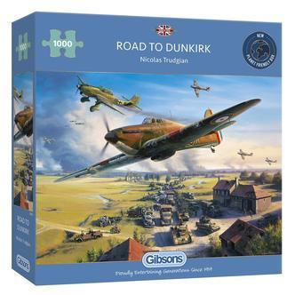 Road to Dunkirk - 1000 brikker