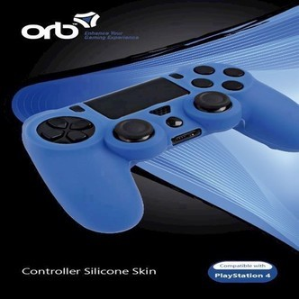 Playstation 4  Silicon Skin Blue ORB - PS4