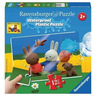 Ravensburger puslespil Miffy Plastic puslespil, 12st.