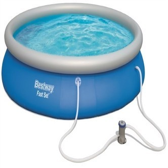 Bestway Fast Set Pool Str 457 X  84Cm M. Filter Pumpe