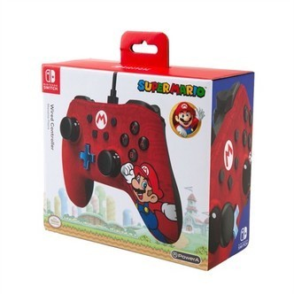 Power a wired controller mario Nintendo Switch