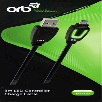 Xbox One  Led Controller Charge Cable 3M Orb - Xbox One