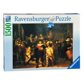 Ravensburger puslespil The night watch, 1500st.