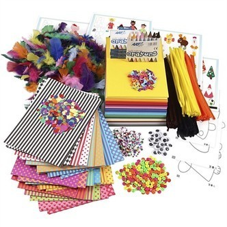 Diy kit large creative package of materials and templates