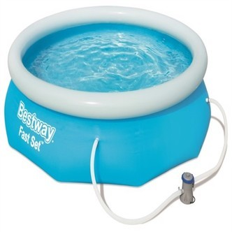 Bestway Fast Set Pool Str 305 X 76Cm M. Filter Pumpe