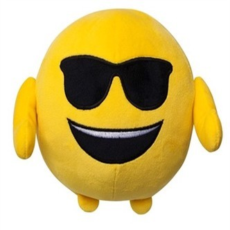 Smiley Solbriller Pude