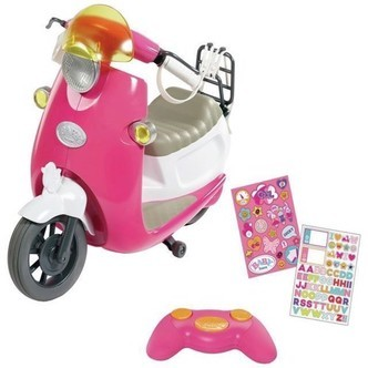 Baby Born - Play & Fun Fjernstyret Scooter