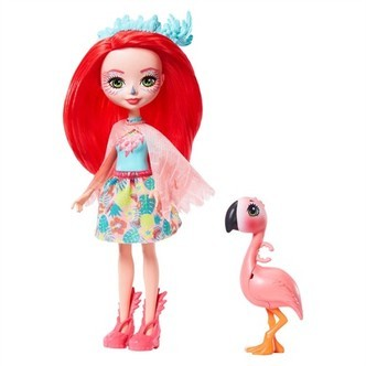 Enchantimals Fanci Flamingo Vask