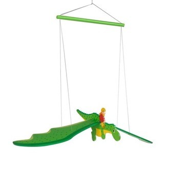 Wooden Swing Figure Dragon