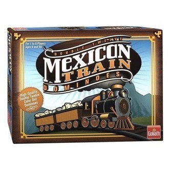 Mexican Train Domino spil