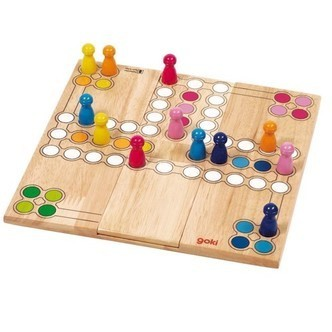 Wooden Ludo Game-Variable