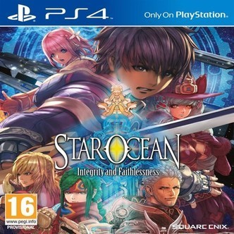 Star Ocean Integrity and Faithlessness, PS4