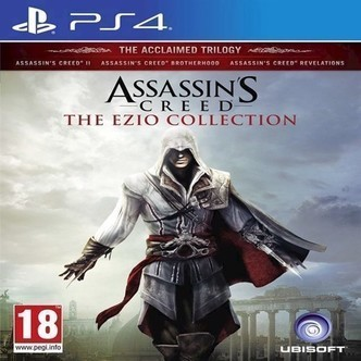 Assassins Creed The Ezio Collection Nordic - PS4