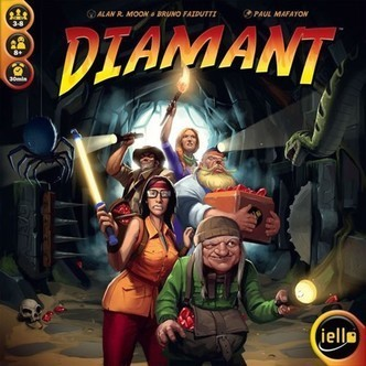 Diamant - Brætspil (Nordic) (IEL51332NOR)