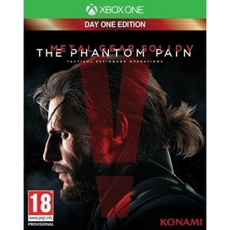 Metal Gear Solid V 5 The Phantom Pain  Day One Edition - XBOX ONE