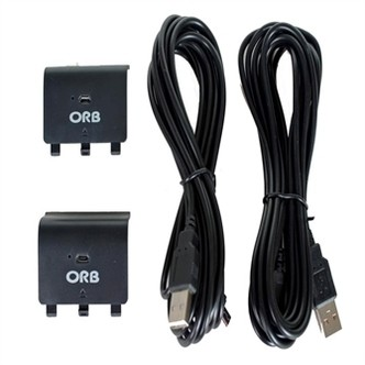 Dual Controller Charge And Play Battery Pack For Xbox One Orb - Xbox One