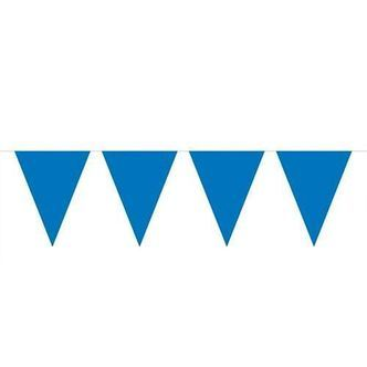Blue Mini Flags line, 3mtr.