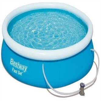 Bestway Fast Set Pool Str. 366 X 76Cm M.Filter Pumpe