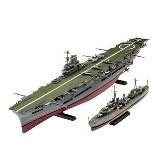 Revell Byggesæt HMS Ark Royal &Tribal Class Destoyer