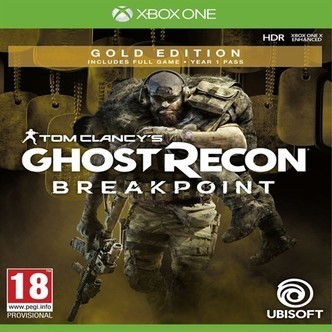 Tom clancys ghost recon breakpoint gold edition, PS4