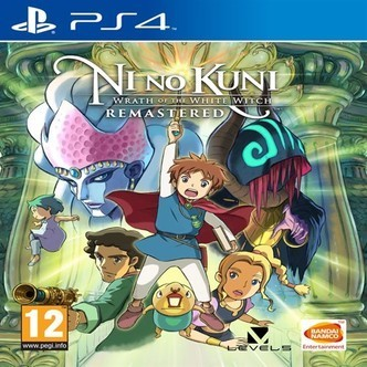 Nino Kuni Wrath of the white witch remastered PS4