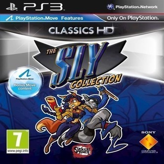 Sly Trilogy Move Compatible - Ps3