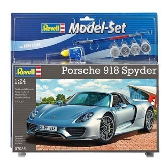 Revell Byggesæt Model Kit-Porsche 918 Spyder