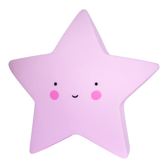 A Little Lovely Company Light Star Mini - Pink