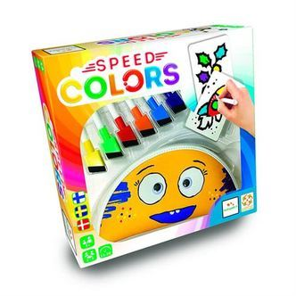 Speed Colors Familiespil Tegnespil