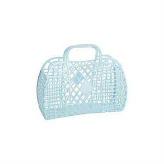 Sun Jellies Retro Basket SMALL - Blue
