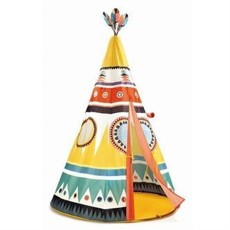 Tipi Legetelt Cirkus Djeco Little Big Room