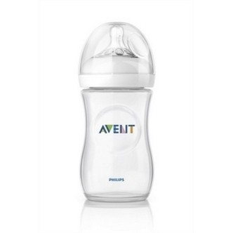 Avent sutteflaske PP 260 ml., BPA fri, Natural
