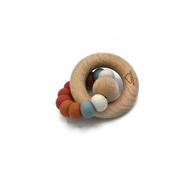 The Cotton Cloud, Round Teether, Retro