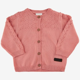 Minymo cardigan - Lobster Bisque - 80