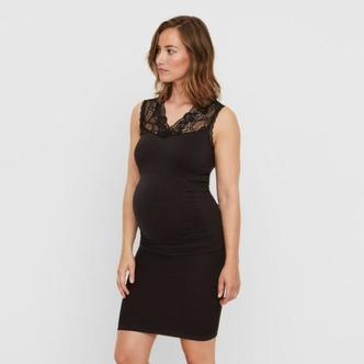 Mamalicious seamless vente-nederdel - Sort - M/L