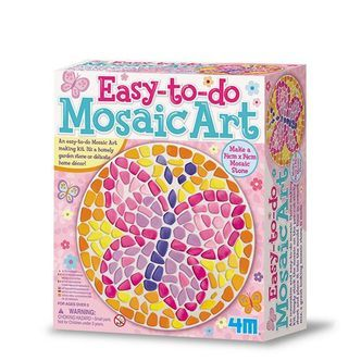 Easy To Do Mosaic Art - Knitting & Sewing  fra 4M