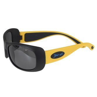 Solbriller fra Banz - Twistable - JBanz Flexerz Yellow/Black (4-10)