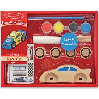 Decorate-Your-Own fra Melissa & Doug - Racerbil