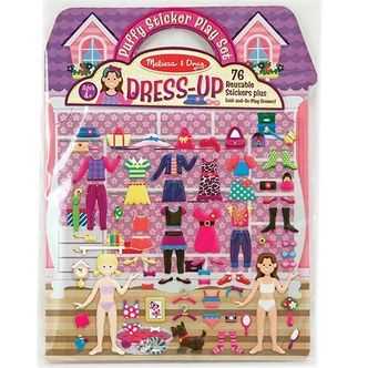 Re-usable Puffy Stickers Play Set - Melissa&Doug - Dress-Up