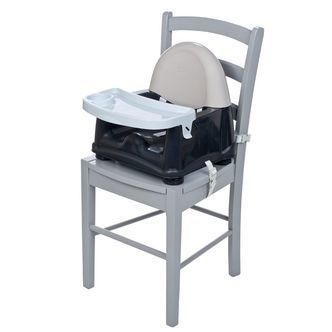 Boostersæde m. bakke fra Safety First - Easy Care Swing Tray Booster Seat