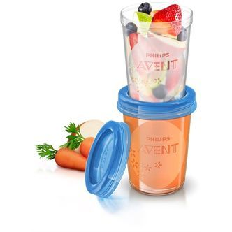 Food Storage Cups fra Philips AVENT (5 x 240ml)