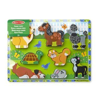 Puslespil fra Melissa & Doug - Pets Chunky Puzzle