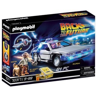 Back to the Future DeLorean - PL70317 - PLAYMOBIL Back to the future