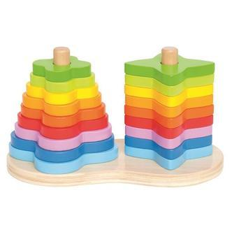Double Rainbow Stacker fra Hape